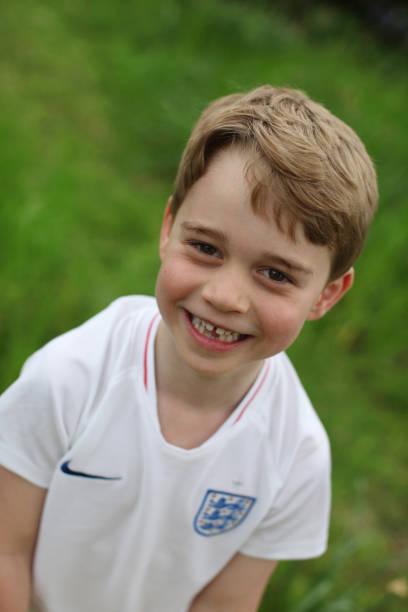 El príncipe George cumple 6 años