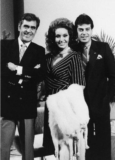 Eric del Castillo, Sonia Infante y Sergio Goyri
