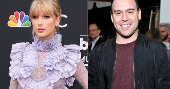 Taylor Swift y Scooter Braun