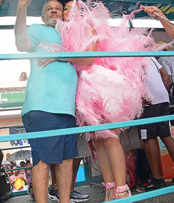 Ronald Fenti y Rihanna