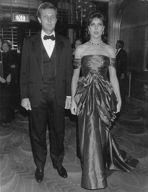 Stefano Casiraghi y Carolina de Mónaco