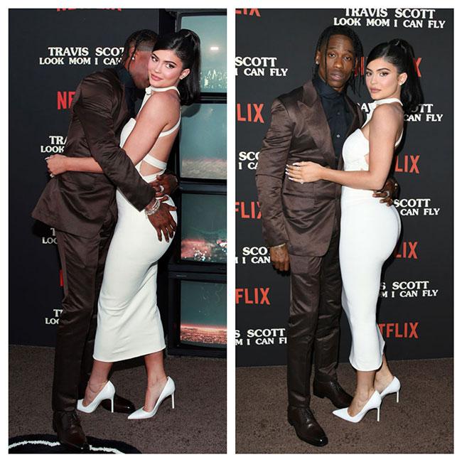 Travis Scott y y Kylie Jenner