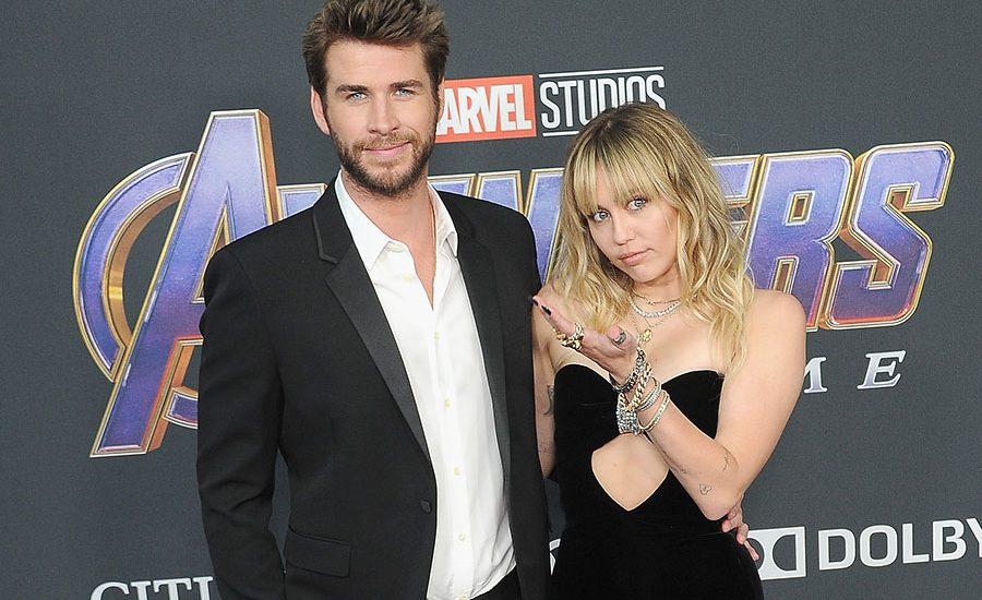 Liam Hemsworth y Miley Cyrus-avengers2