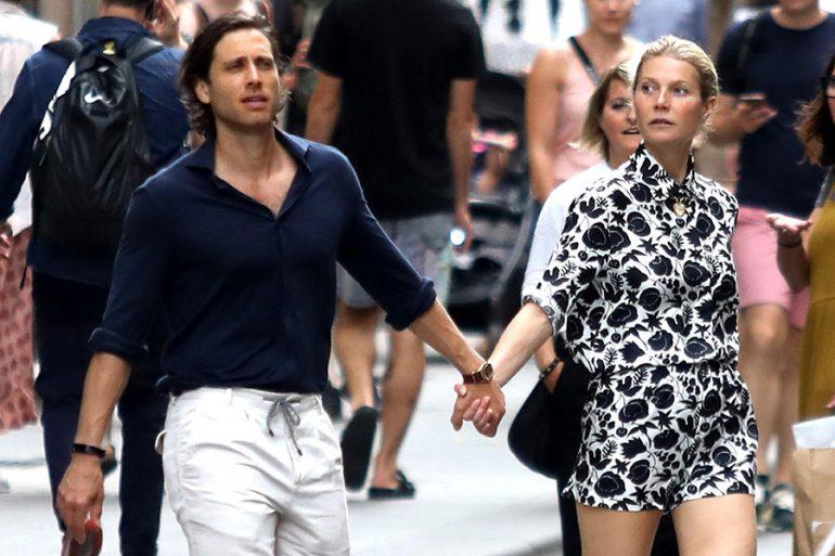 Brad Falchuk y Gwyneth Paltrow