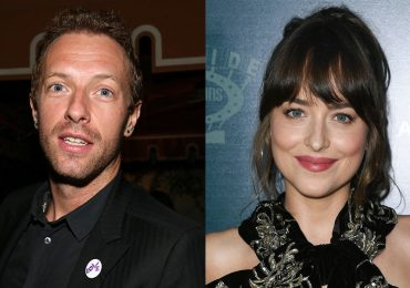 Chris Martin y Dakota Johnson