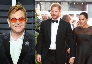 Elton John y duques de Sussex