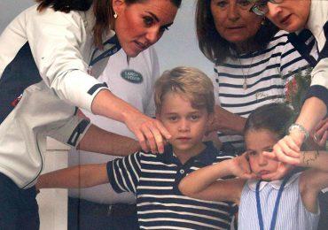George y Charlotte en regata