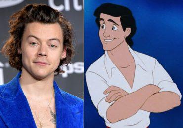 Harry Styles y el príncipe Eric