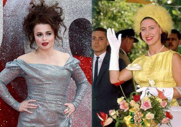 Helena Bonham Carter y princesa Margarita