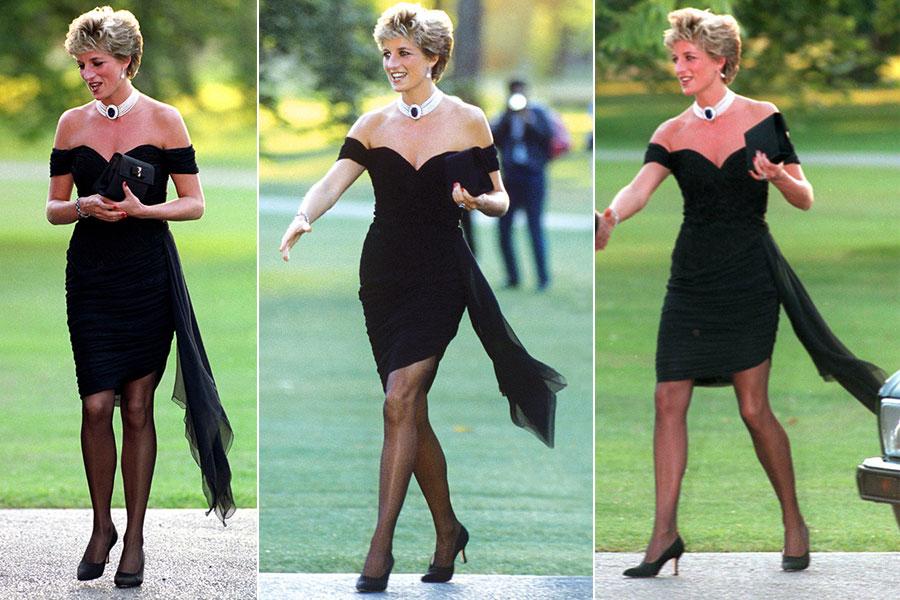 Vestido venganza de la princesa Diana.