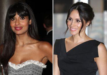 Jameela Jamil y Meghan Markle