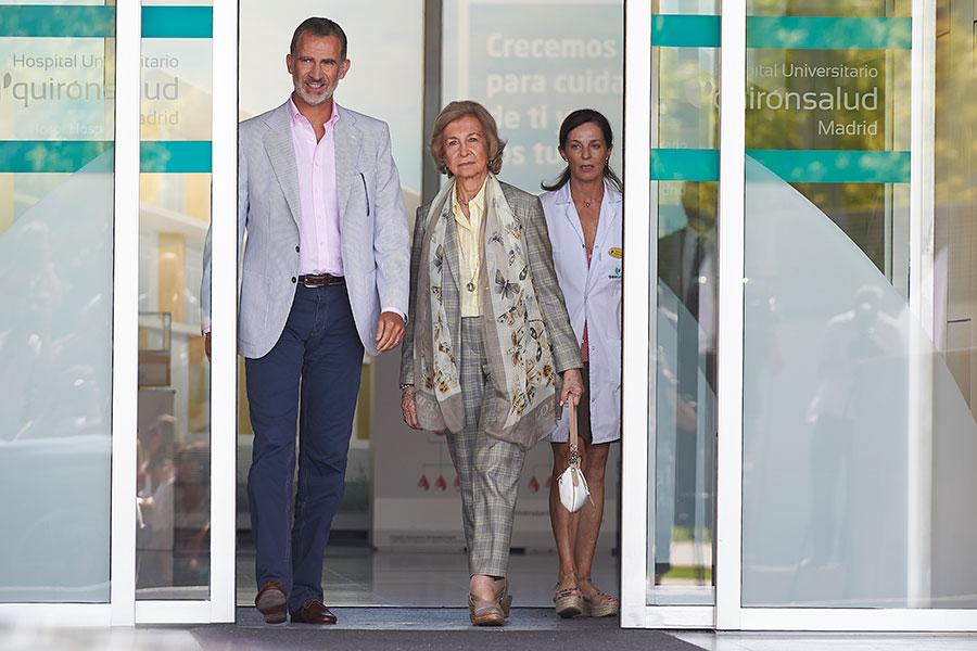 Rey Felipe y reina Sofía