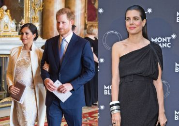 Meghan, Harry y Carlota Casiraghi