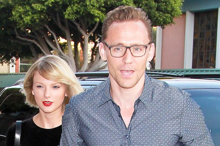 Taylor Swift y Tom Hiddleston