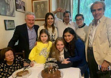 Constanza celebra en familia