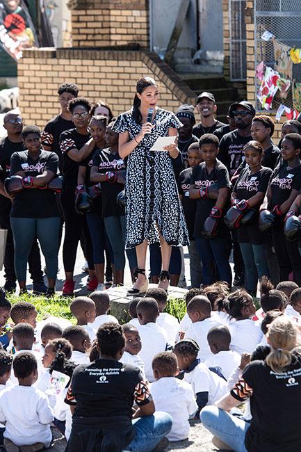 Meghan y su discurso en Sudáfrica