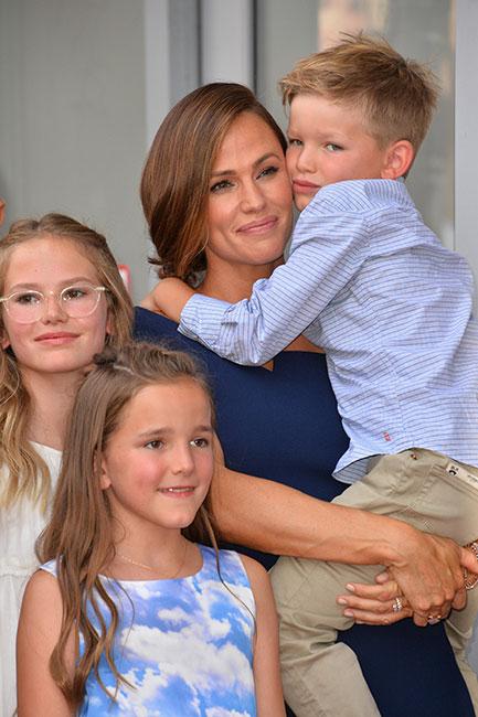 Jennifer Garner y sus hijos