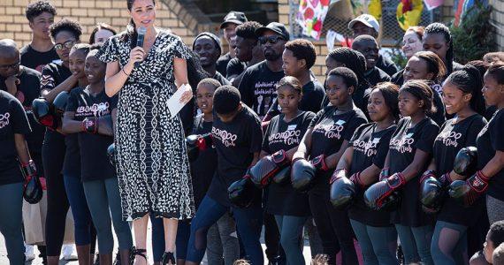 Meghan Markle y su discurso en Sudáfrica
