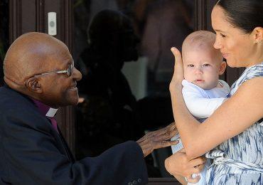 Duques de Sussex, Archie y Desmond Tutu