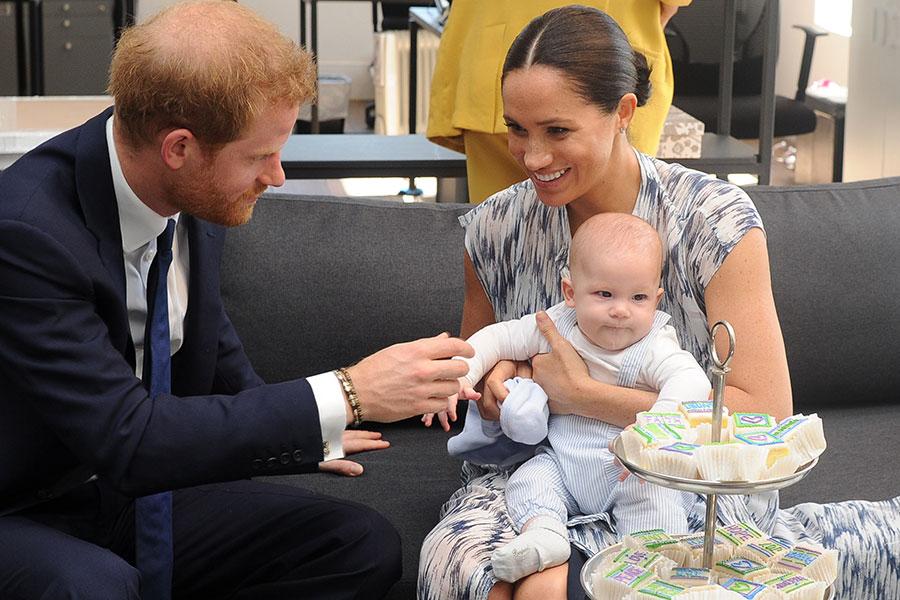 Duques de Sussex y Archie enÁfrica