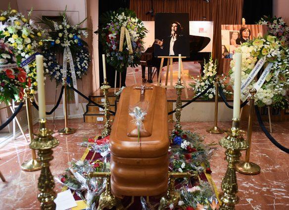 Último adiós a Camilo Sesto