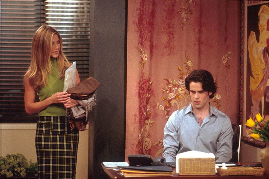 Jennifer Aniston como Rachel Green