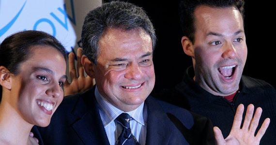 José José con Marysol y José Joel