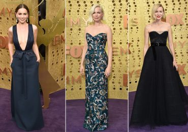 Emilia Clarke, Michelle Williams y Naomi Watts en el Emmy 2019