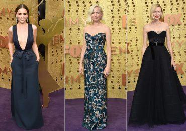 Emilia Clarke, Michelle Williams y Naomi Watts en el Emmy 2019