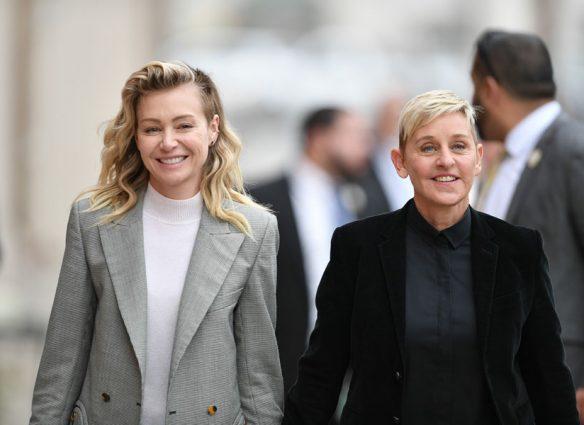 Portia de Rossi pide apoyo para su esposa Ellen DeGeneres en su peor momento