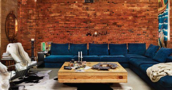 Loft con espacios abiertos