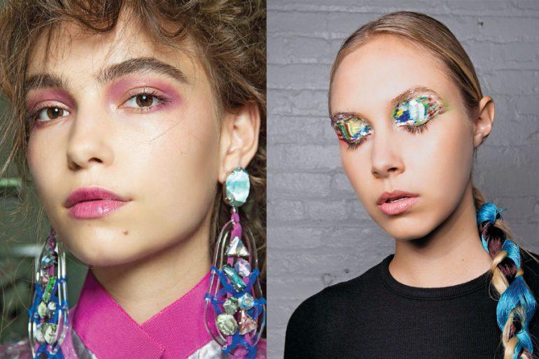 Maquillaje ochentero