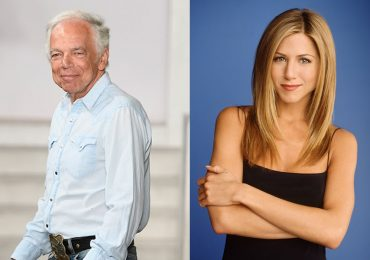 Ralph Lauren y Jennifer Aniston