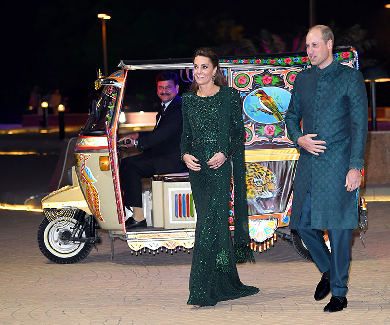 Kate y William en Pakistán