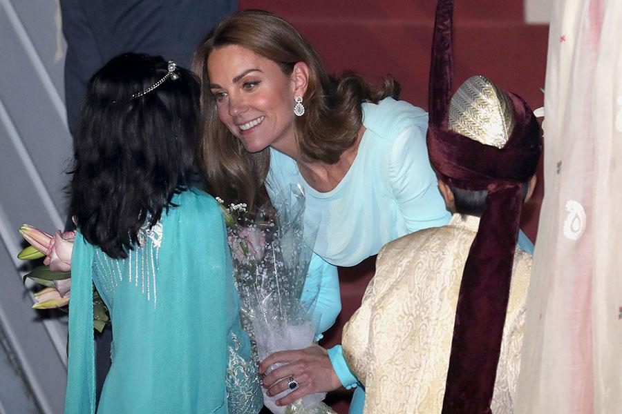 Los duques de Cambridge llegan a Pakistán
