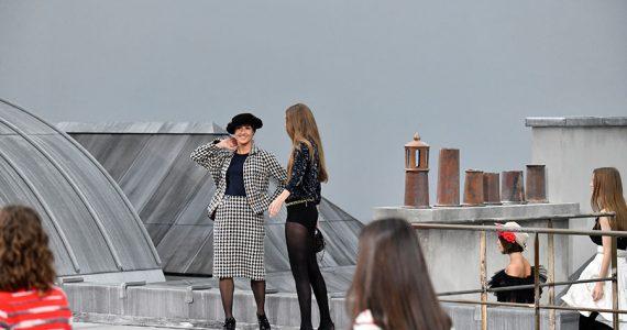 Gigi Hadid saca a intrusa de desfile Chanel