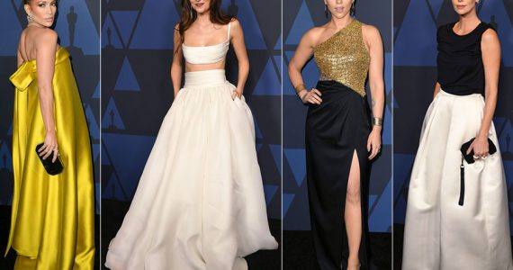 Estilo en los Governors Awards