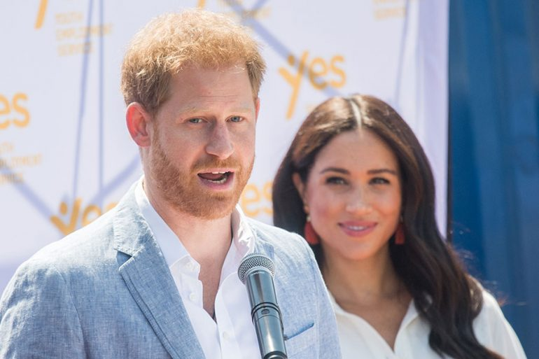 Harry y Meghan en Tembisa