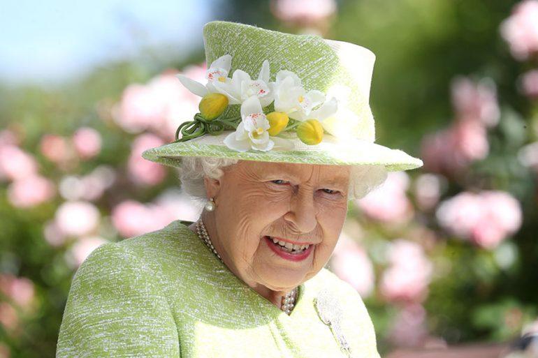 Reina Isabel en Royal Ascot, armario de la reina Isabel