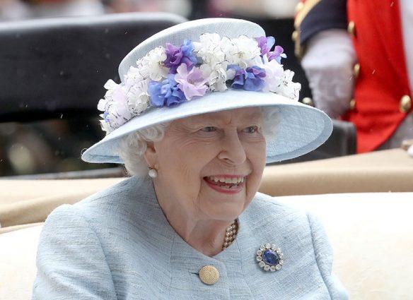 Reina Isabel en Royal Ascot