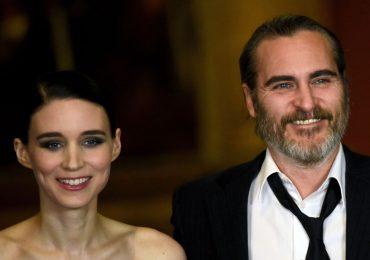 ¡Joaquin Phoenix y Rooney Mara están esperando su primer hijo!