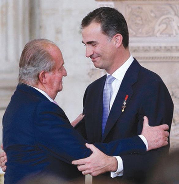 Felipe reuncia herencia