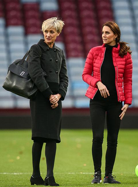 Catherine Quinn y Kate Middleton