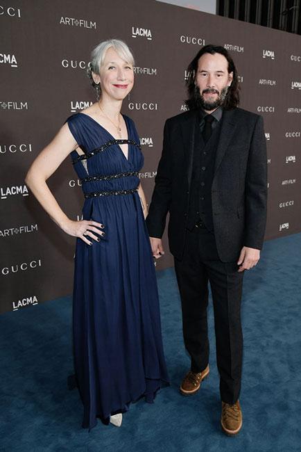 Alexandra Grant y Keanu Reeves