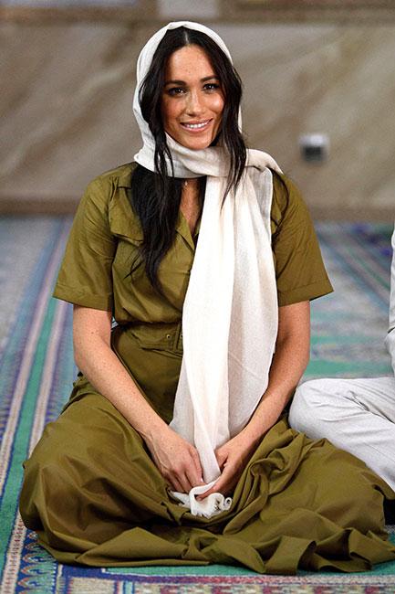 Meghan Markle como icono de moda