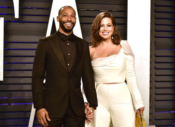Justin Ervin y Ashley Graham