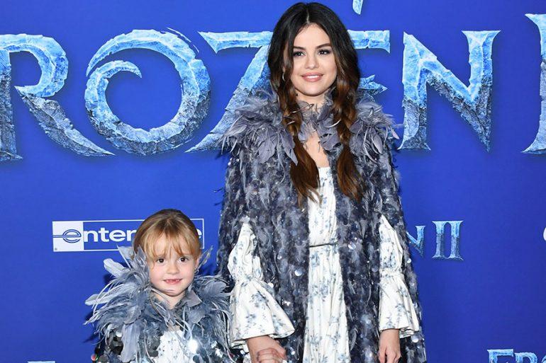 Gracie Teefey y Selena Gomez