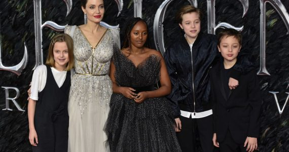 Vivienne Jolie-Pitt, Angelina Jolie, Zahara Jolie-Pitt,