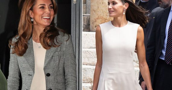 Kate Middleton y reina Letizia