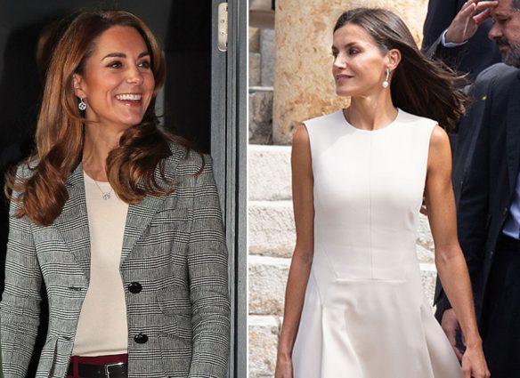 Kate Middleton y reina Letizia
